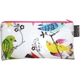 Long Zip Purse Makeup Bag