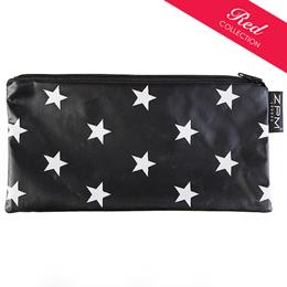 Stars Black Cosmetics Purse/Pencil Case