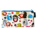 Holiday Hedgehog Long Zip Purses