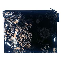 Zephyr Black Handy Zip Purse