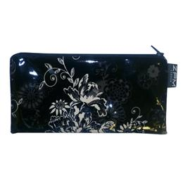 Zephyr Black Cosmetics Purse/Pencil Case