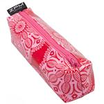 Persia Pink Block Zip Bag/Pencil Case