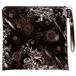 Zephyr Black Loop Handle Purse