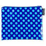 Ta Dot Cobalt Handy Zip Purse