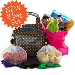 Trolley Dolly Shopping Bag Sets