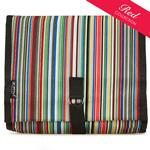Rex Stripe Hanging Washbag/Toiletry Bag