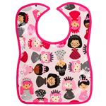Bubble Girls Pink Baby Bib