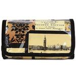 Venice Cream Small Folding Washbag/Make-up Bag