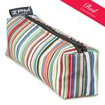 Rex Stripe Block Zip Bag/Pencil Case