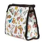 Butterflies Blue Traditional Washbag