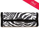 Zebra Make-Up Roll/Cosmetics Roll