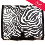 Zebra Hanging Washbag/Toiletry Bag