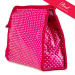 Pin Dot Pink Traditional Washbag