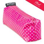 Pin Dot Pink Block Zip Bag/Pencil Case