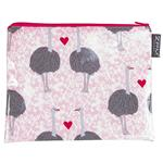 Ostrich Love Handy Zip Purse