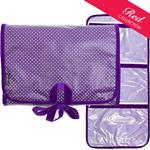 Pin Dot Purple/Pin Dot Lilac Lingerie Bag
