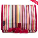 Bright Multi Stripe Hanging Washbag/Toiletry Bag
