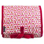 Katie Flower Cerise Hanging Washbag/Toiletry Bags