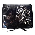 Zephyr Black Hanging Washbag/Toiletry Bag