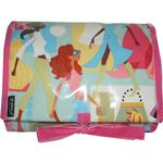 Fashion Girls Teal Hanging Washbag/Toiletry Bag