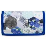 Kimono Patch Blue Small Folding Washbag/Toiletry Bag