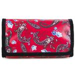 Paisley Red Small Folding Washbag/Toiletry Bag