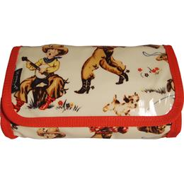 Cowboy Larry Small Folding Washbag/Toiletry Bag