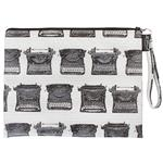 Typewriters Black Mini Ipad Case