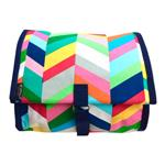 Beach Chevrons Hanging Washbag/Toiletry Bag