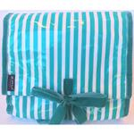 Hatbox Mint and White Hanging Washbag/Toiletry Bag