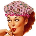 Cupcakes Pink Shower Cap